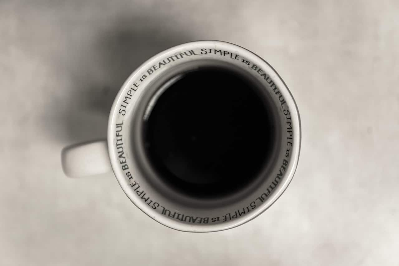beautiful, coffee, and simple image