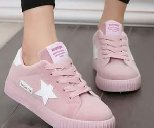 pink and sneakers image