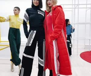 style, kendall jenner, and hailey baldwin image