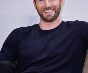 actor, handsome, and chris evans image