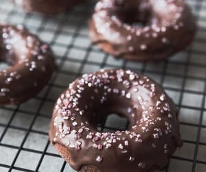 chocolate, donuts, and sparkles image