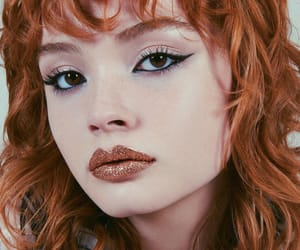 face, fashion, and lips image
