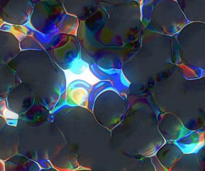 gif, atom, and bubbles image