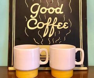 yellow mugs, 1960's mugs, and stangl yellow stripe image