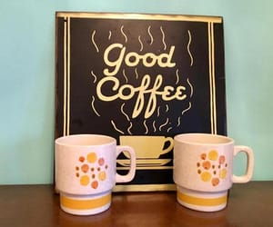 etsy, akitschisjustakitsch, and yellow mugs image