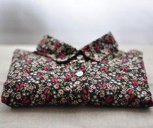fashion, shirt, and flowers image