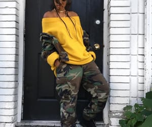 camo, fashion, and outfit image