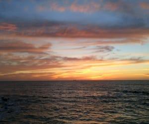 playa, sunset, and méxico image