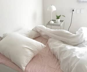 pastel, white, and bed image