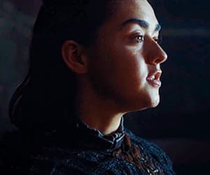 couple, gif, and arya stark image