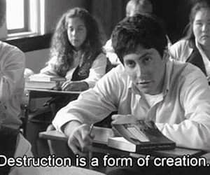 donnie darko, quotes, and destruction image