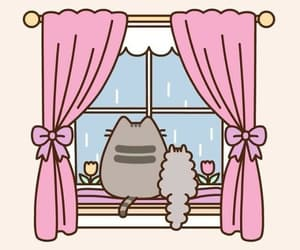 cats, kawaii, and pusheen image