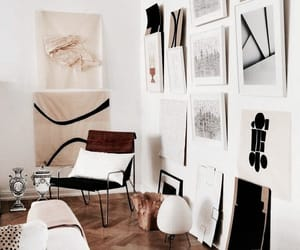 interior, home, and art image