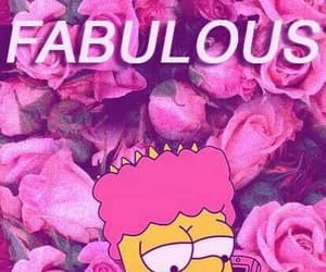 aesthetic, bart simpson, and flowers image