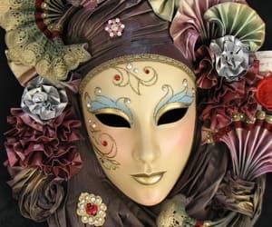 carnaval, mascara, and venecia image