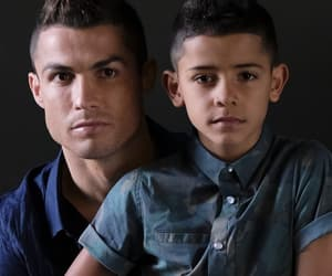 baby, cristiano ronaldo, and daddy image