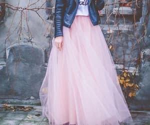 tutu, falda rosa, and tul image