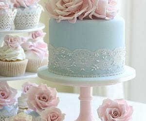 cake, cupcake, and food image