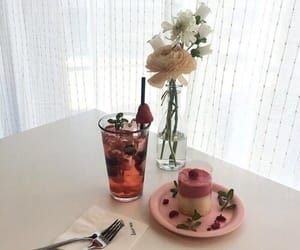 aesthetic, pink, and flowers image