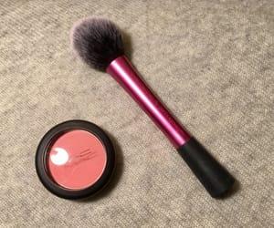 beauty, mac, and blush brush image