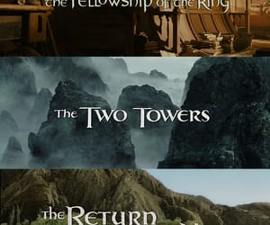 adventure, jrr tolkien, and lord of the rings image