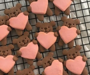 food, Cookies, and bear image