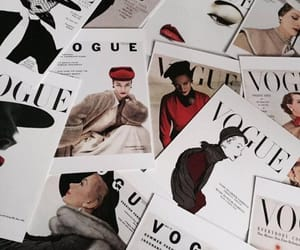 vogue, magazine, and aesthetic image