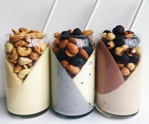 almonds, delicious, and eat image