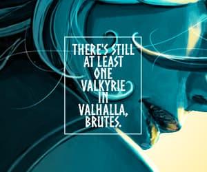 Marvel, brunnhilde, and valkyrie image