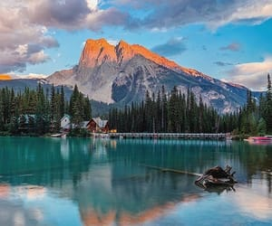 canada, mountain, and water image