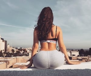 ass, body, and brunette image