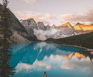 landscape, mirror, and travel image