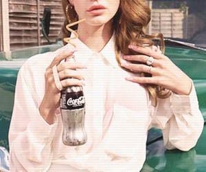 lana del rey, coca cola, and vintage image
