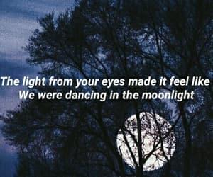 Lyrics, moon, and moonlight image