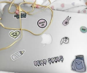 aesthetic, laptop, and alternative image