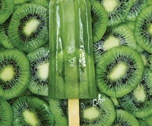 green, popsicle, and fruit image