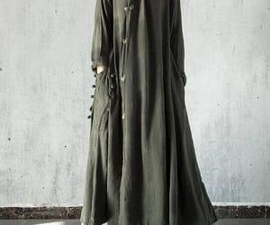 black dress, etsy, and maxi dress image