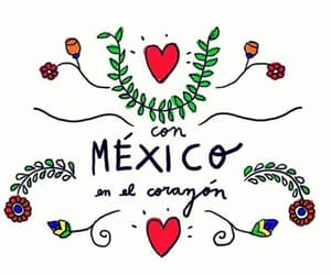 amor, corazón, and mexicans image