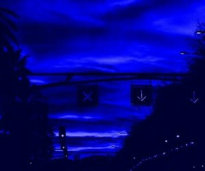 blue and aesthetic image