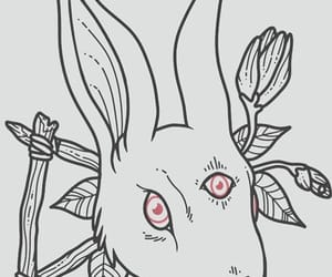 bunny, creepy, and cult image