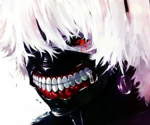 tokyo ghoul, kaneki, and anime image