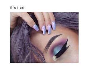 eyes, makeup, and makes image