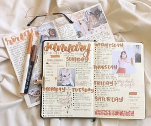 japanese, journal, and bullet journal image