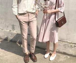 couple, aesthetic, and kfashion image