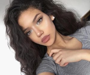 baby girl, beautiful, and curly hair image