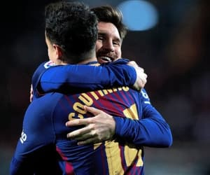Barcelona, leo messi, and soccer image