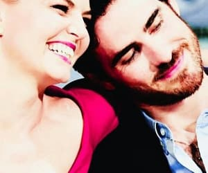 once upon a time, Jennifer Morrison, and captain swan image