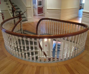 wooden spiral staircases, custom spiral stairs, and custom spiral staircase image