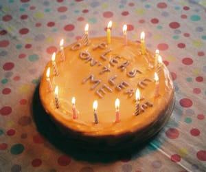 cake, sad, and grunge image