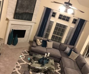 couches, living room, and tv image